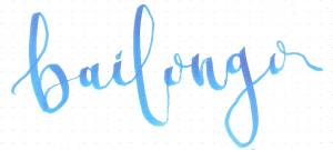 estilo de lettering bailongo