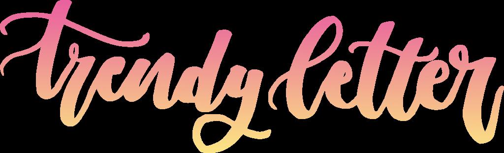 trendy-letter