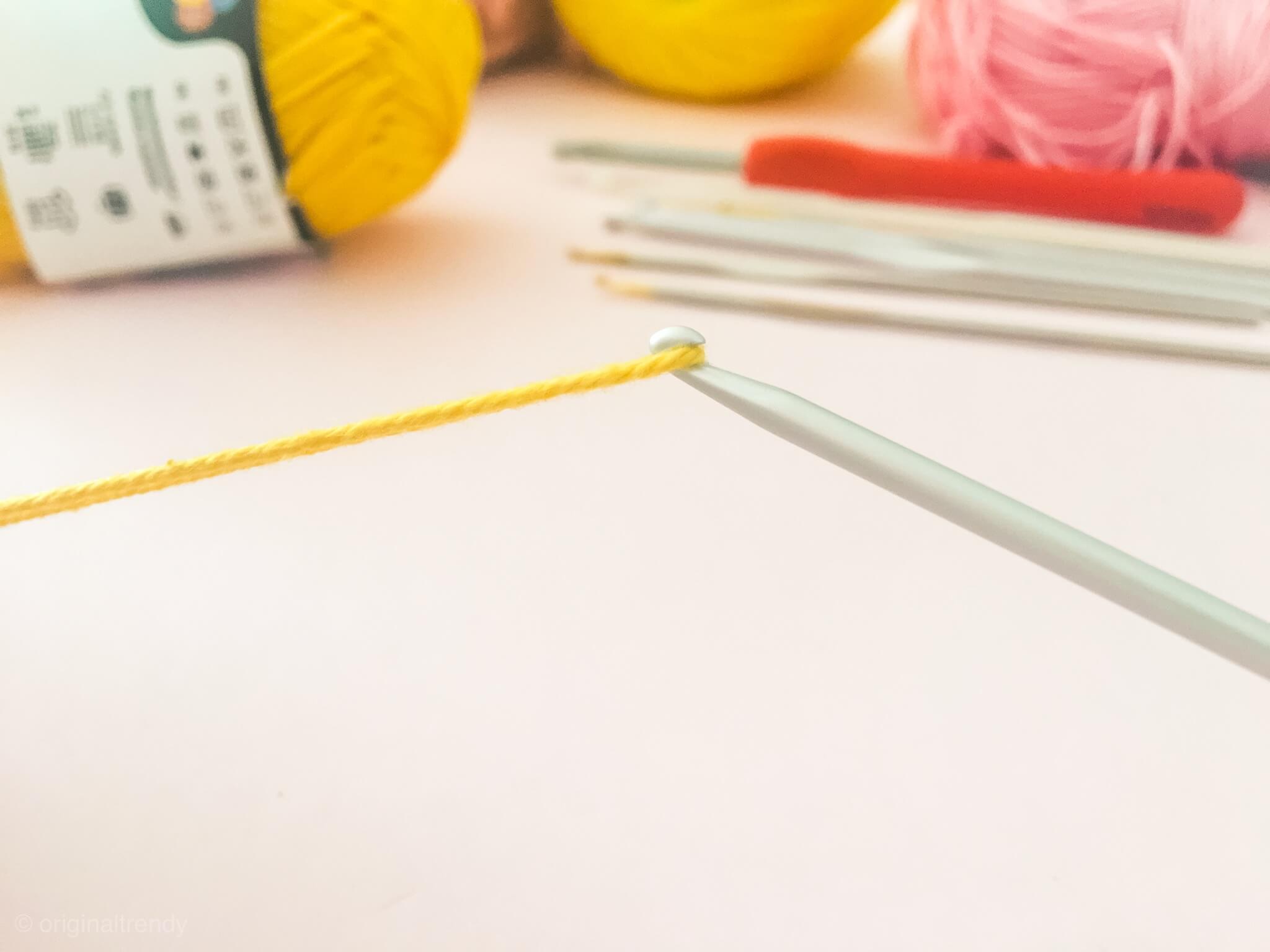 ejemplo aguja de crochet correcto