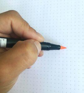posicion-correcta-altura del rotulador