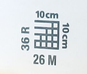 símbolo muestra 10x10