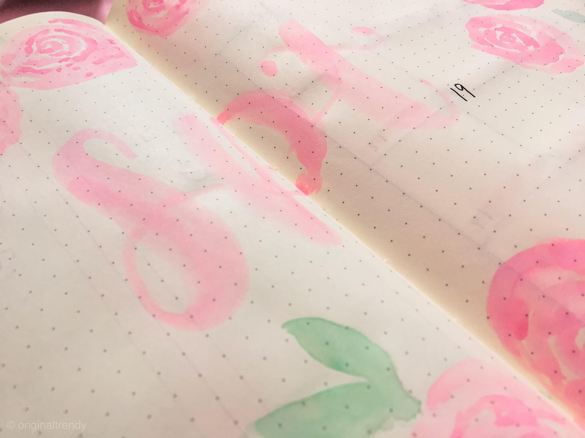 bullet journal septiembre-portada-letras
