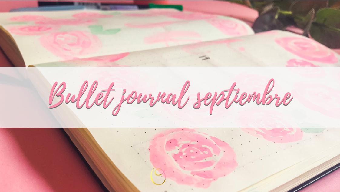 bullet journal septiembre-principal