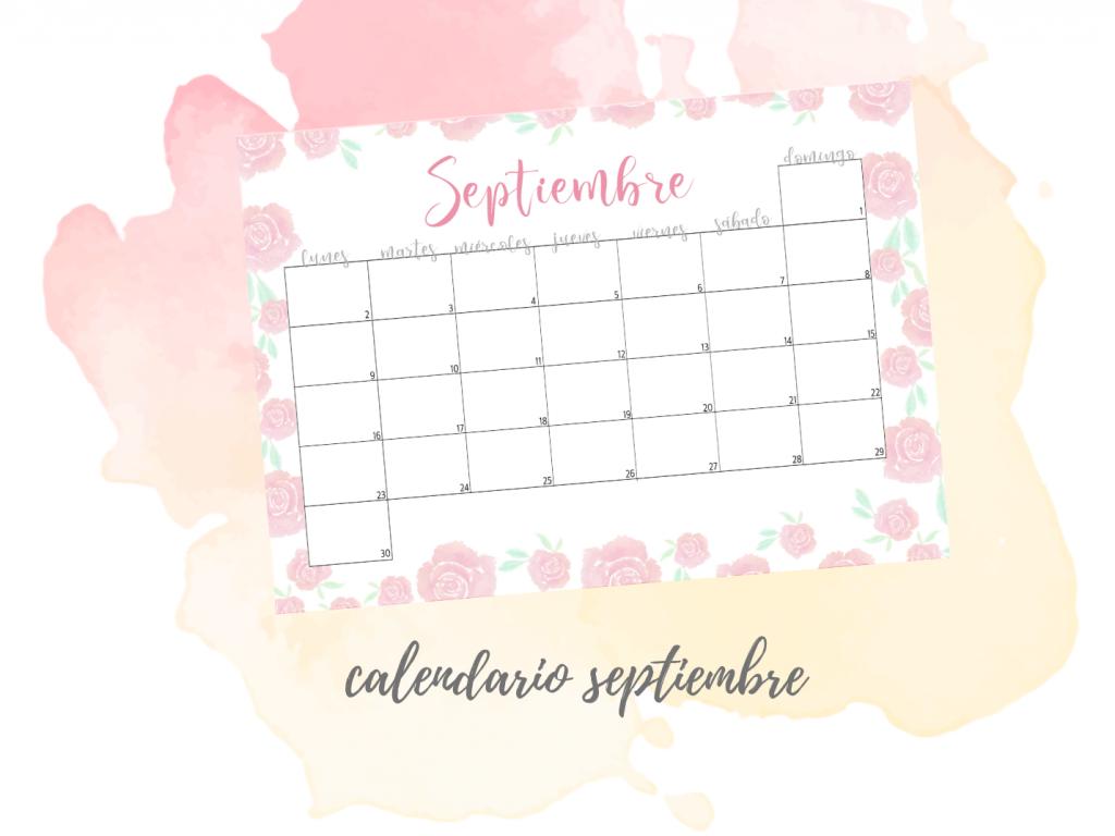 calendario septiembre 19