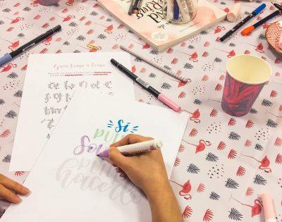 taller de iniciación al lettering