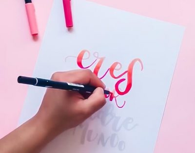 curso de lettering